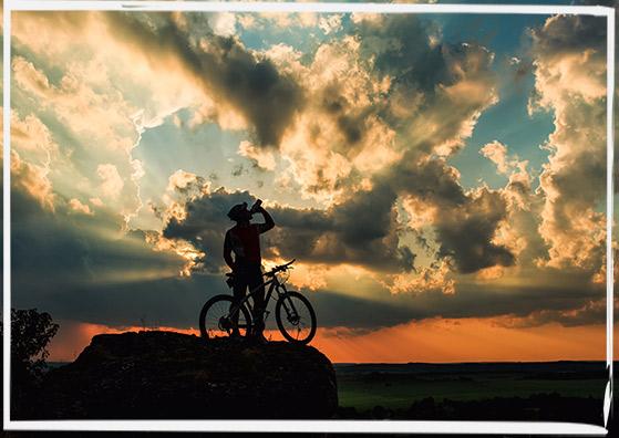 Bootcamp55 - Radfahrer wird für Bewegung belohnt